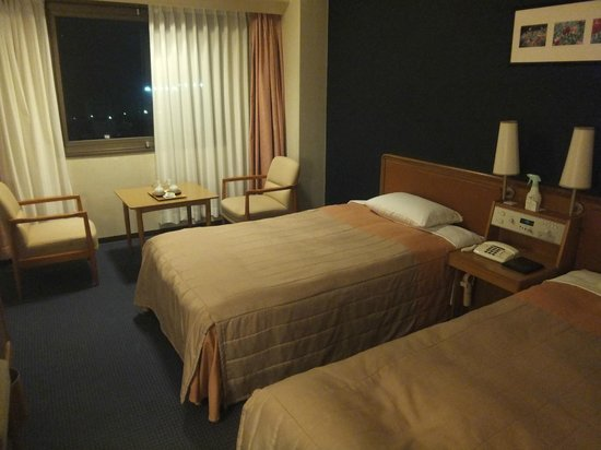 The Crown Plalace Hotel New Hankyu Kochi: 部屋