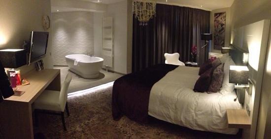 Van der Valk Hotel Leiden : Junior Suite, een heerlijke kamer