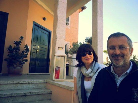 Appia Antica Resort: I simpatici padroni di casa :)