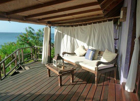 Laluna Hotel: Room deck