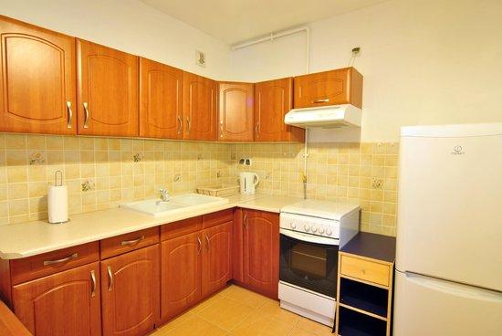 Be My Guest Apartments: Kuchnia Studio II