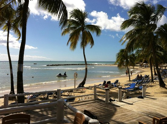 Windjammer Landing Villa Beach Resort: Another glorious day on the beach