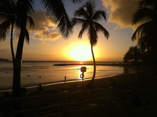 Windjammer Landing Villa Beach Resort: The perfect sunset