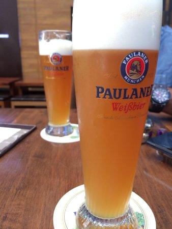 Brotzeit German Bier Bar & Restaurant : Beer on offer