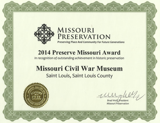 Missouri Civil War Museum: Preservation & Restoration of an historic military building.
