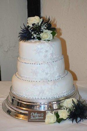 Cakes The Difference: Winter Wonderland Wedding Cake