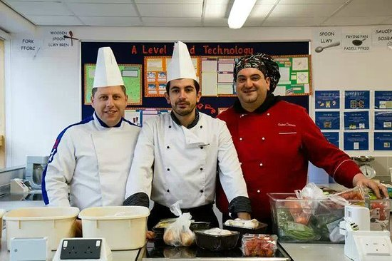 L'Ariosto's Restaurant Cowbridge: our chef and manager