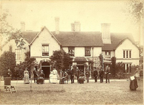 The Old Rectory Country House: The Old Rectory...many moons ago!