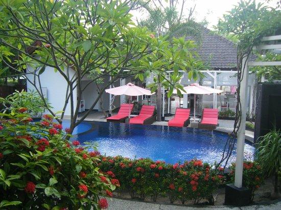 Danima Resort & Restaurant: View from poolside room.