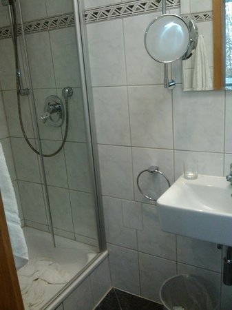 Hotel Bilger Eck: El baño muy bien equipado