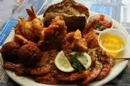 Seafood platter picture of fisherman 39 s wharf hot for Arkansas cuisine