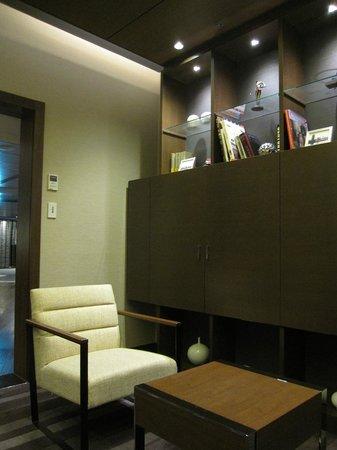 Hotel Granvia Osaka: 27/F休息室一隅