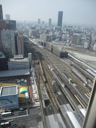 Hotel Granvia Osaka: 頂層景觀