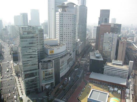 Hotel Granvia Osaka: 窗外景色