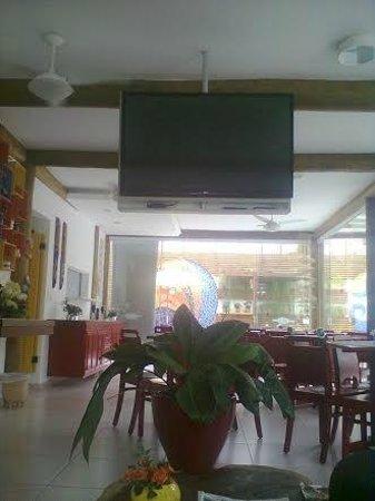 Pousada Cana Caiana : local onde é servido o café