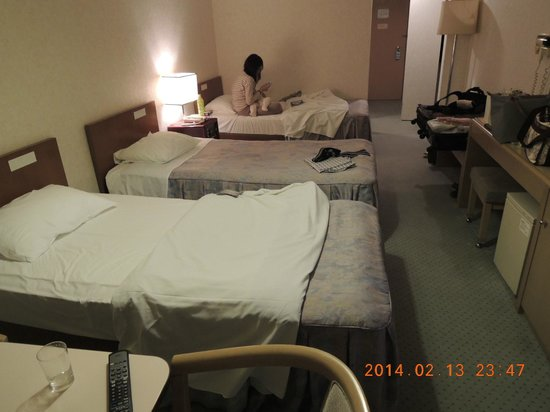 Narita Airport Rest House: 3人用の客室