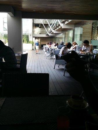 Grand Mega Resort & Spa : Breakfast buffet.