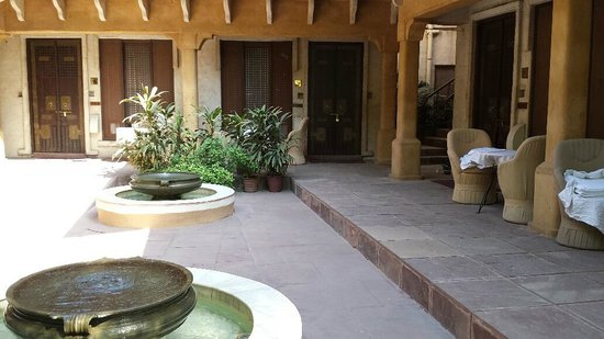 Ajit Bhawan : View of my room from the mini courtyard for that building.