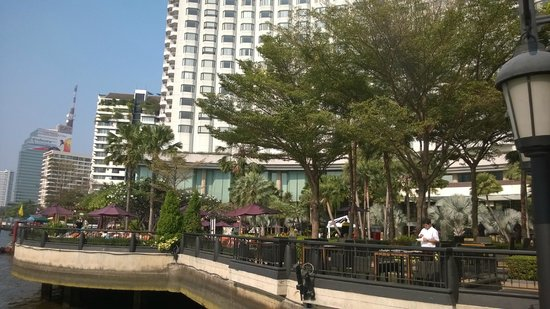 Shangri-La Hotel,Bangkok: Restaurant area