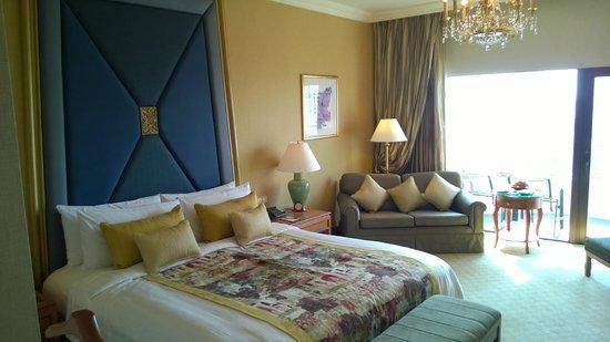 Shangri-La Hotel,Bangkok: Delux room, Krungtep wing