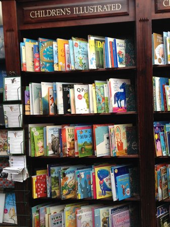 Daunt Books: bookshelves