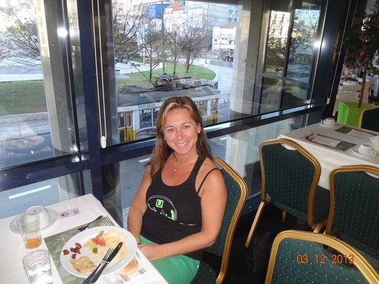 Hotel Mundial: desayuno