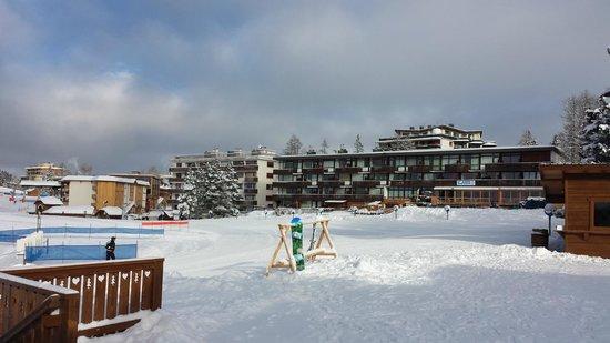 Hotel Le Loup Blanc : Au pied des pistes...