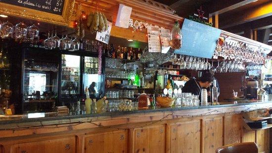 Hotel Le Loup Blanc : Le bar