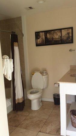 Saint Simons Inn by the Lighthouse: Bathroom