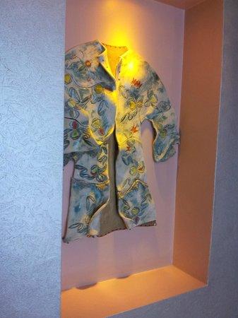 Seraglio Hotel and Suites: Bonita decoración en los pasillos
