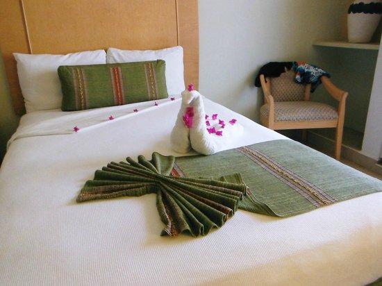 Binniguenda All Inclusive: Room on main floor Binniguenda Hotel.