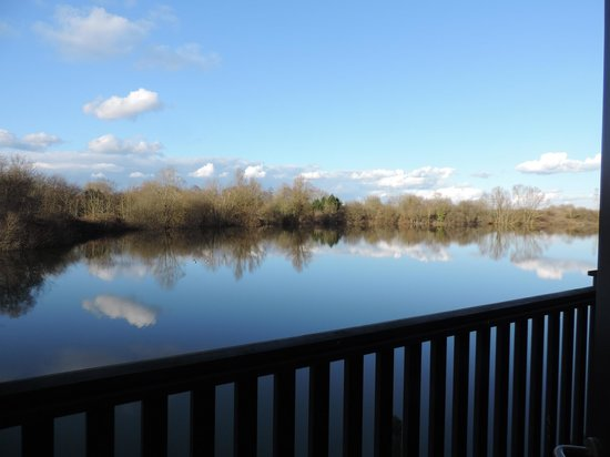 The Reading Lake Hotel: Stunning views from room 202