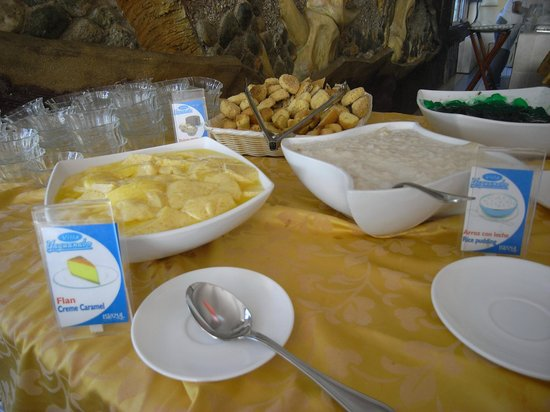 Villa Islazul Yaguanabo : Rice pudding for breakfast?
