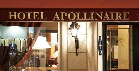 Hôtel Apollinaire : facade