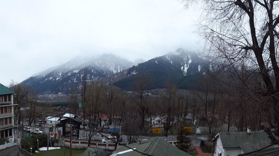 Khushboo Resorts : VIEW FROM HOTEL ROOM 203
