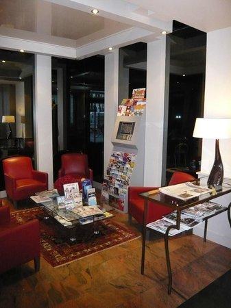 Hotel de Geneve: Salon