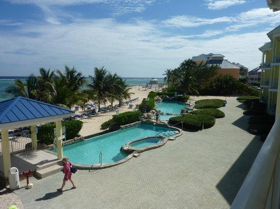 Wyndham Reef Resort: View from the balcony.