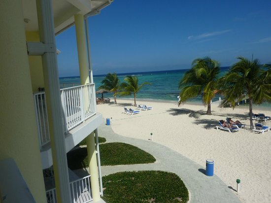 Wyndham Reef Resort: View from the Balcony