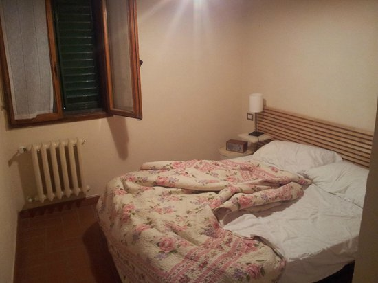Badia Fiorentina Bed and Breakfast : Camera da letto, ampia, luminosa, letto comodo.