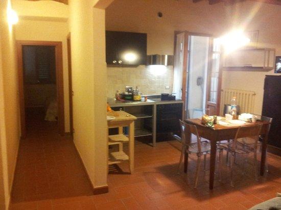 Badia Fiorentina Bed and Breakfast: Ingresso/ soggiorno