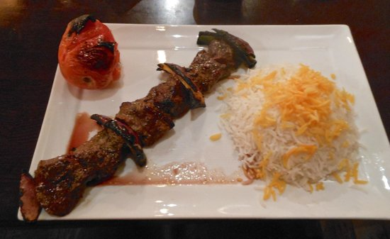 Colbeh Persian Kitchen & Bar: Shish Kabob