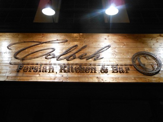 Colbeh Persian Kitchen & Bar: Sign