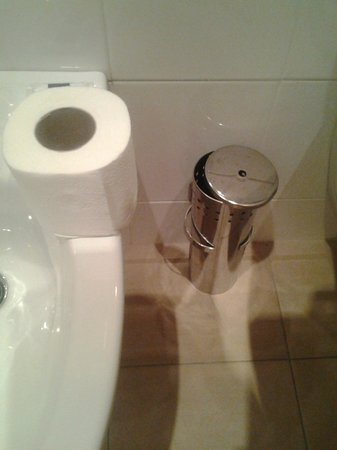 Idea Hotel Milano San Siro: Steel wc borstel ontbreekt