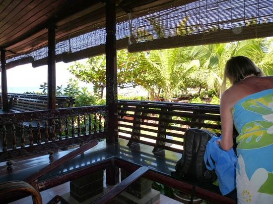 Palm Tree Heritage: terrasse de la chambre