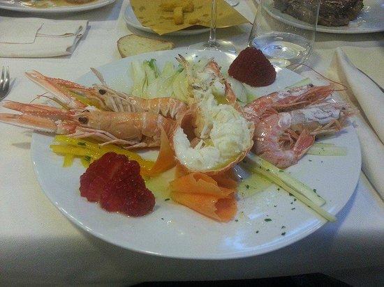Hotel Mirage : crostacei alla catalana
