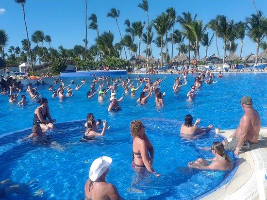 Grand Bahia Principe Punta Cana: Pool party