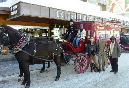 Hotel Mont Cervin Palace: Transport from hotel to station/car