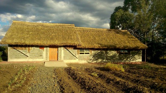 Moof Africa Organic Hostel / Camp: The newly built farmer training centre.