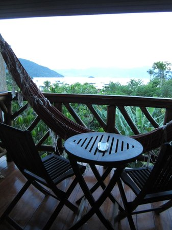 Pousada Naturalia: Balcony (with hammock)