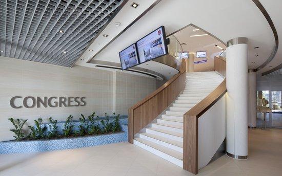 Clarion Congress Hotel Olomouc: Congress Centre entrance